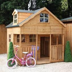 7 x 7 Waltons Honeypot Dormer Apex Wooden Playhouse