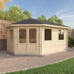 5 x 3 LS Lodge Grande 44mm Single Glazed