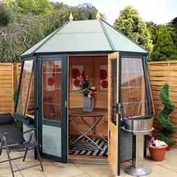 8 x 6 Waltons Buttermere Octagonal Summerhouse