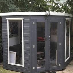 7 x 7 Waltons Premier Corner Summerhouse