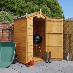 3 x 4 Waltons Tongue and Groove Apex Wooden Shed