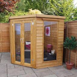 7 x 7 Waltons Wooden Corner Summerhouse