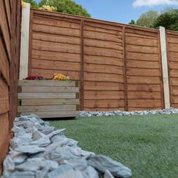 Waney Edge (Lap Panel) 915mm  Pressure Treated