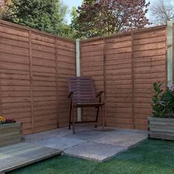 Waney Edge (Lap Panel) 1829mm  Pressure Treated