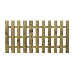 Palisade 1220mm  Flat Top  Pressure Treated