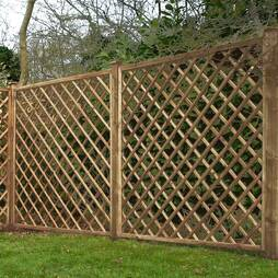 Diamond Trellis 1800mm x 1800mm  Pressure Treated