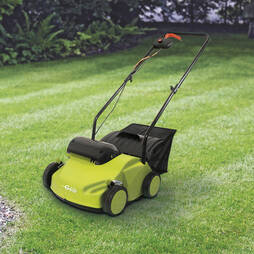 Garden Gear Powerful 2in1 Lawn Rake and Scarifier