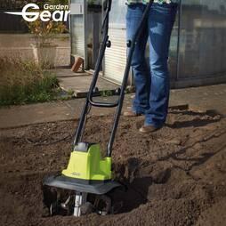 Garden Gear 1050W Electric Tiller and Cultivator