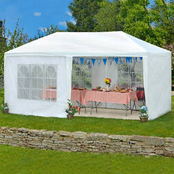 3m x 6m White Party Tent