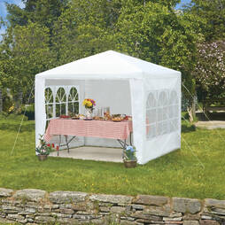 3m x 3m White Party Tent