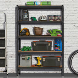 5 Shelf Storage Rack  XL Version