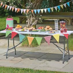 6ft Foldaway Banquet Table