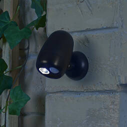 Wireless LED Motion Sensor Light  Black
