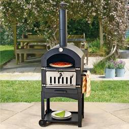 Outdoor Pizza Oven  Smoker & BBQ
