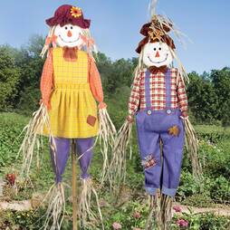 3.6ft Scarecrow Double Pack