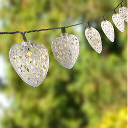 Solar Heart Lights