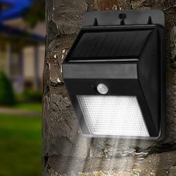 Solar 8 Led Motion Sensor Light