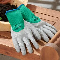 3 Pack Garden Work Gloves Large