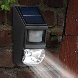 Motion Sensor Wall LightBlack