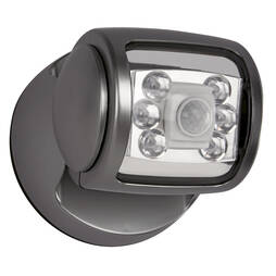 6 Led Porch Sensor Light Graphite