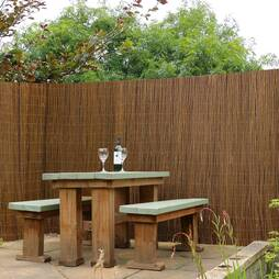 WILLOW FENCE SCREENING ROLLS 120 x 400cm (1.2m x 4m)