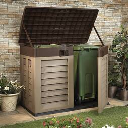 Garden Storage Shed and Bin Store
