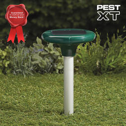Pest XT Solar Powered Mole Repeller  Four Pack