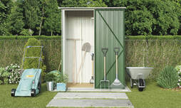 Light Green Waltons Pent 4.7 x 3ft Shed