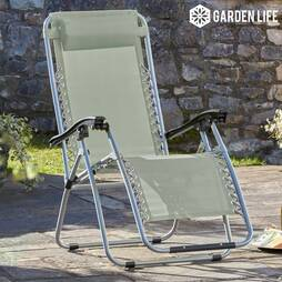 Zero Gravity Chair  Stone Twin Pack