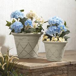 Lotus Flower Planter (Pack of 2)