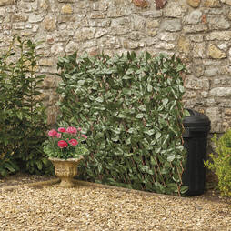 Artificial Ivy Hedge Trellis 100 x 200cm