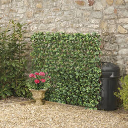 Artificial Evergreen Laurel Hedge Trellis 0.7x2M