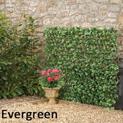 Artificial Evergreen Laurel Hedge Trellis 1X2M