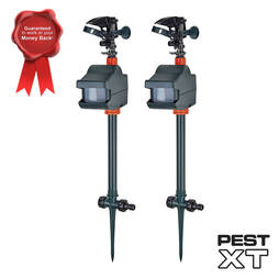 Pest XT Jet Spray Cat Repeller  Twin Pack