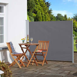 Garden Side Awning  Grey 160x300cm