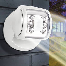 6 Led Porch Sensor Light White