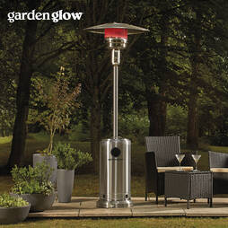GARDEN GLOW 12KW S.STEELE GAS PATIO HEAT