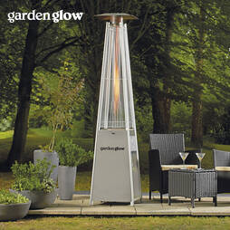 GARDEN GLOW 15KW SQUARE FLAME GAS PATIO