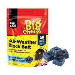 The Big Cheese All Weather Rodent Bait  50 Blocks