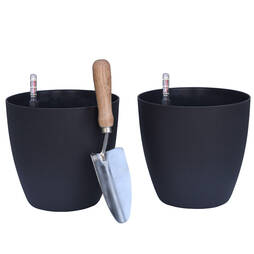 Garden Grow Set of 2 Self Watering Plant Pots