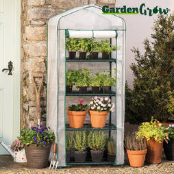 Garden Grow Premium 4 Tier Greenhouse