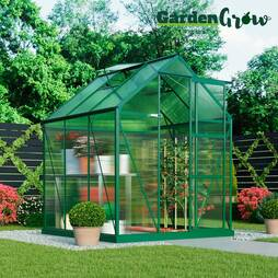 Garden Grow Deluxe Edition Greenhouse  Green