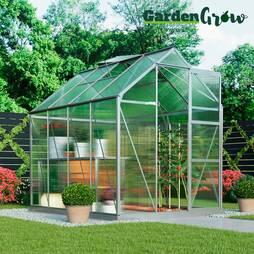 Garden Grow Deluxe Edition Greenhouse  Silver