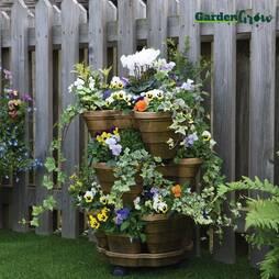 Garden Grow Tiered Planter
