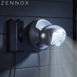 Zennox 20 LED Solar Powered Porch Light