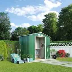 Waltons Deluxe Apex 7 x 4.2ft Metal Shed