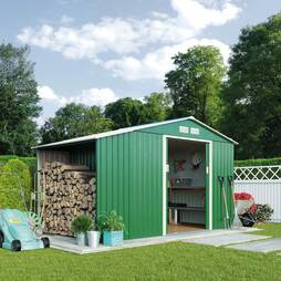 Waltons 9.1 x 4.2ft Storage and Log Shed