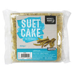 Kingfisher Suet Cake with Mealworms