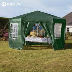 Hexagonal Party Tent  Green