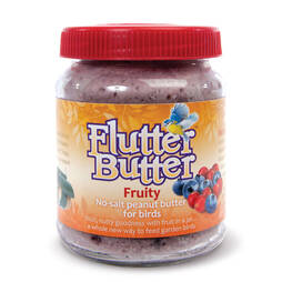 Flutter Butter Jar  FRUITY